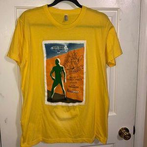 American Apparel yellow t-shirt. Size L